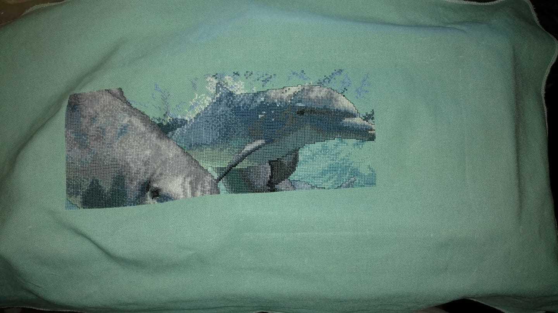 School of dolphins wip 2017 10 05