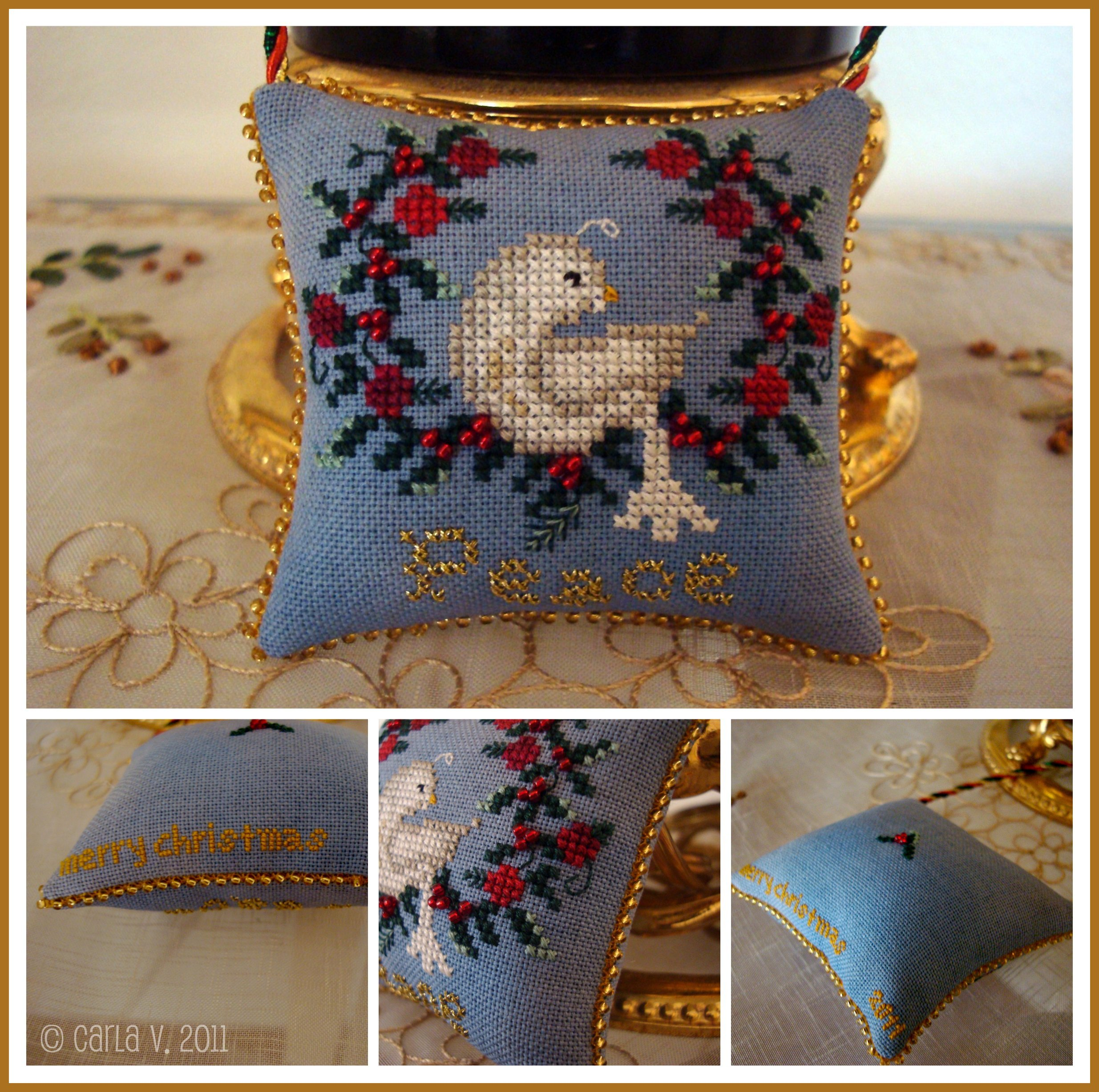 Peace ornament 6317198186 o