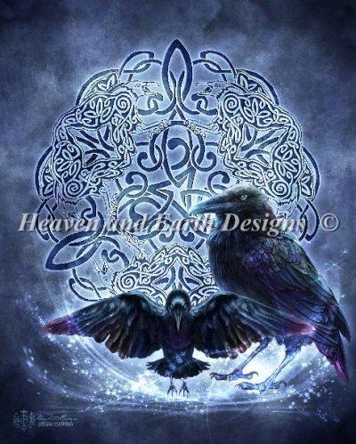 Totem mystic raven