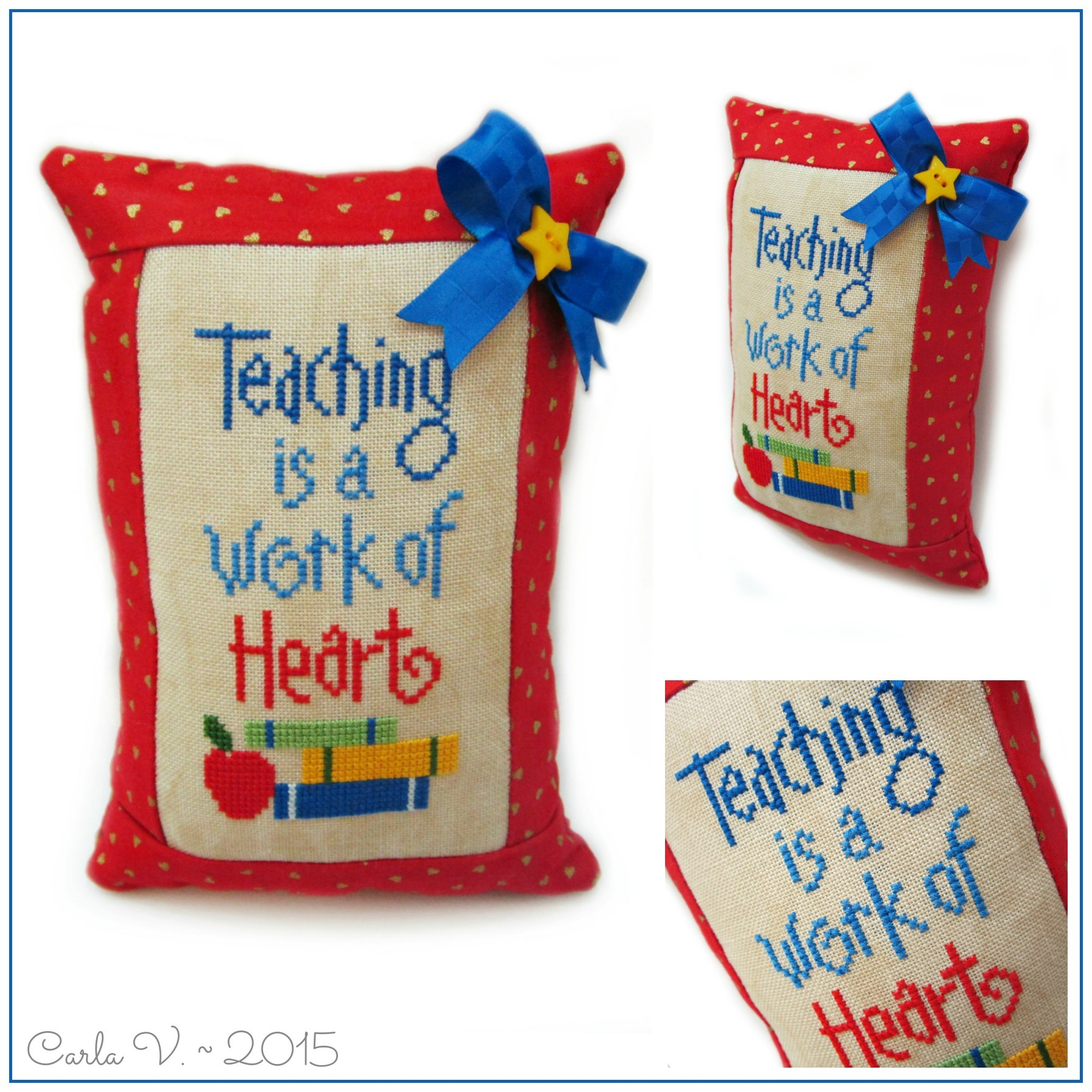Teaching is a work of heart 23745440331 o